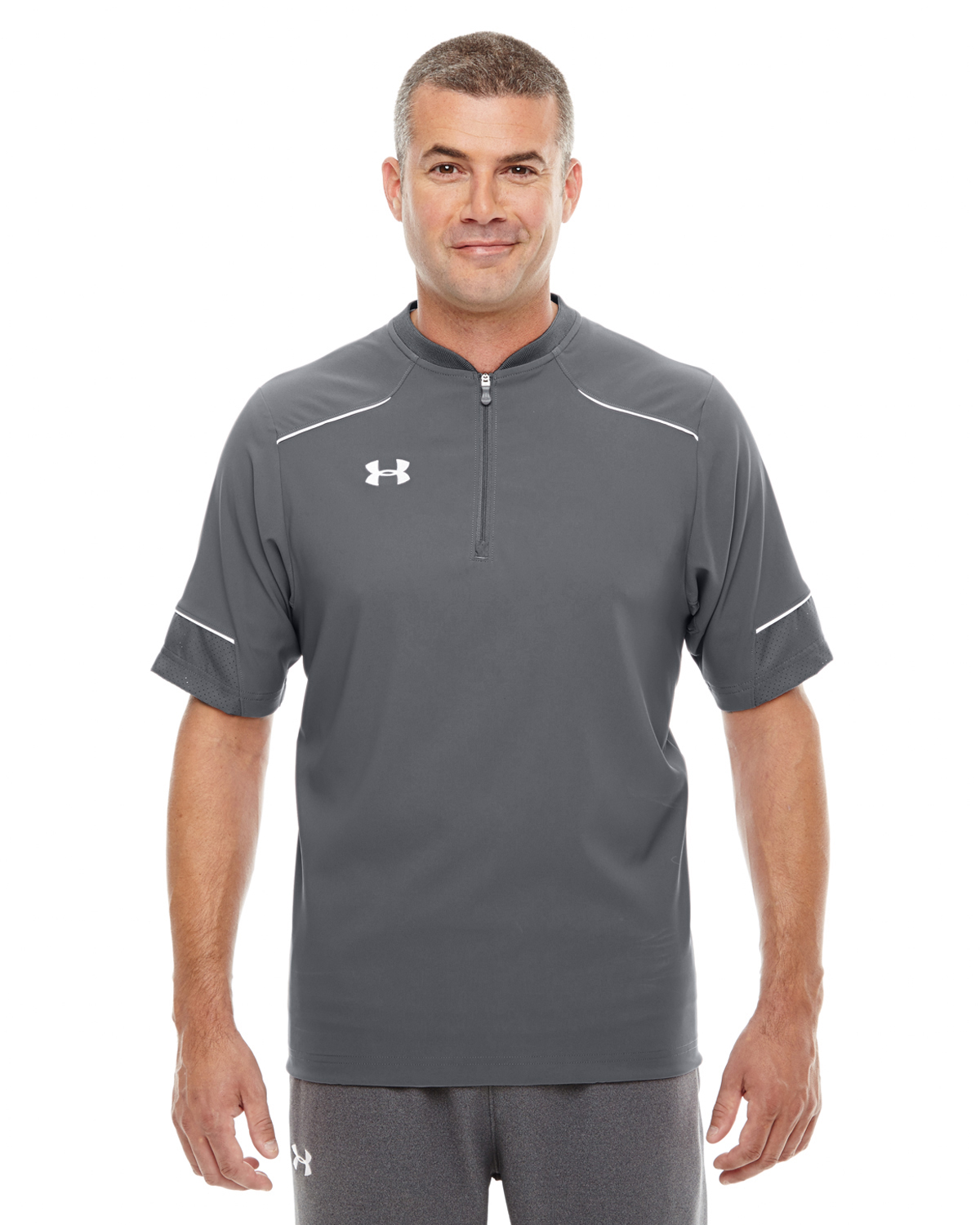 MENS UA ULTIMATE SHORT-SLEEVE WINDSHIRT