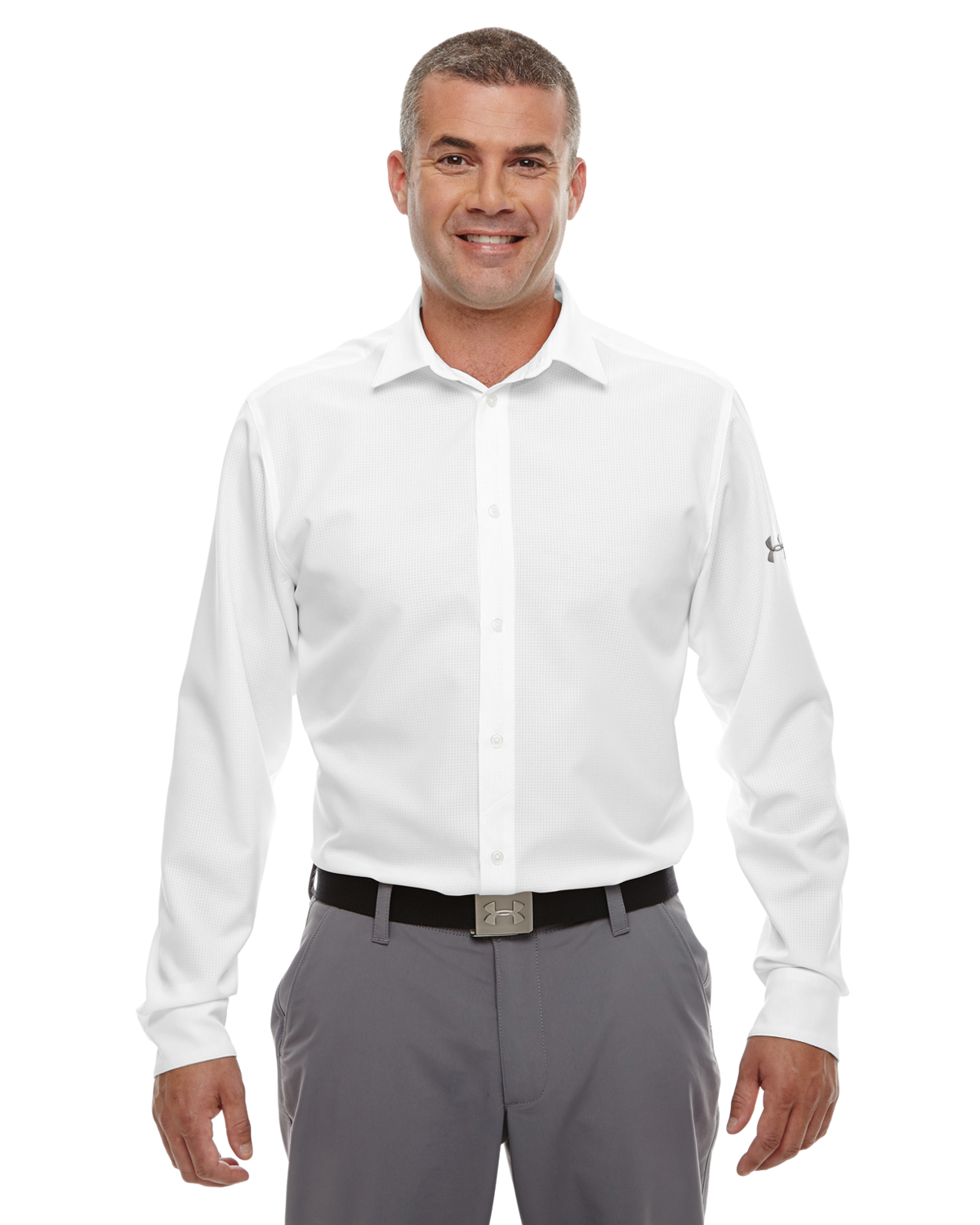 MENS UA ULTIMATE LONG-SLEEVE BUTTONDOWN