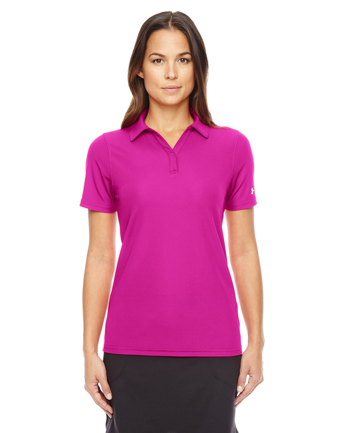 LADIES UA CORP PERFORMANCE POLO