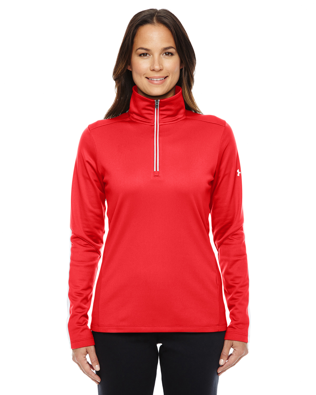 LADIES UA QUALIFIER QUARTER-ZIP