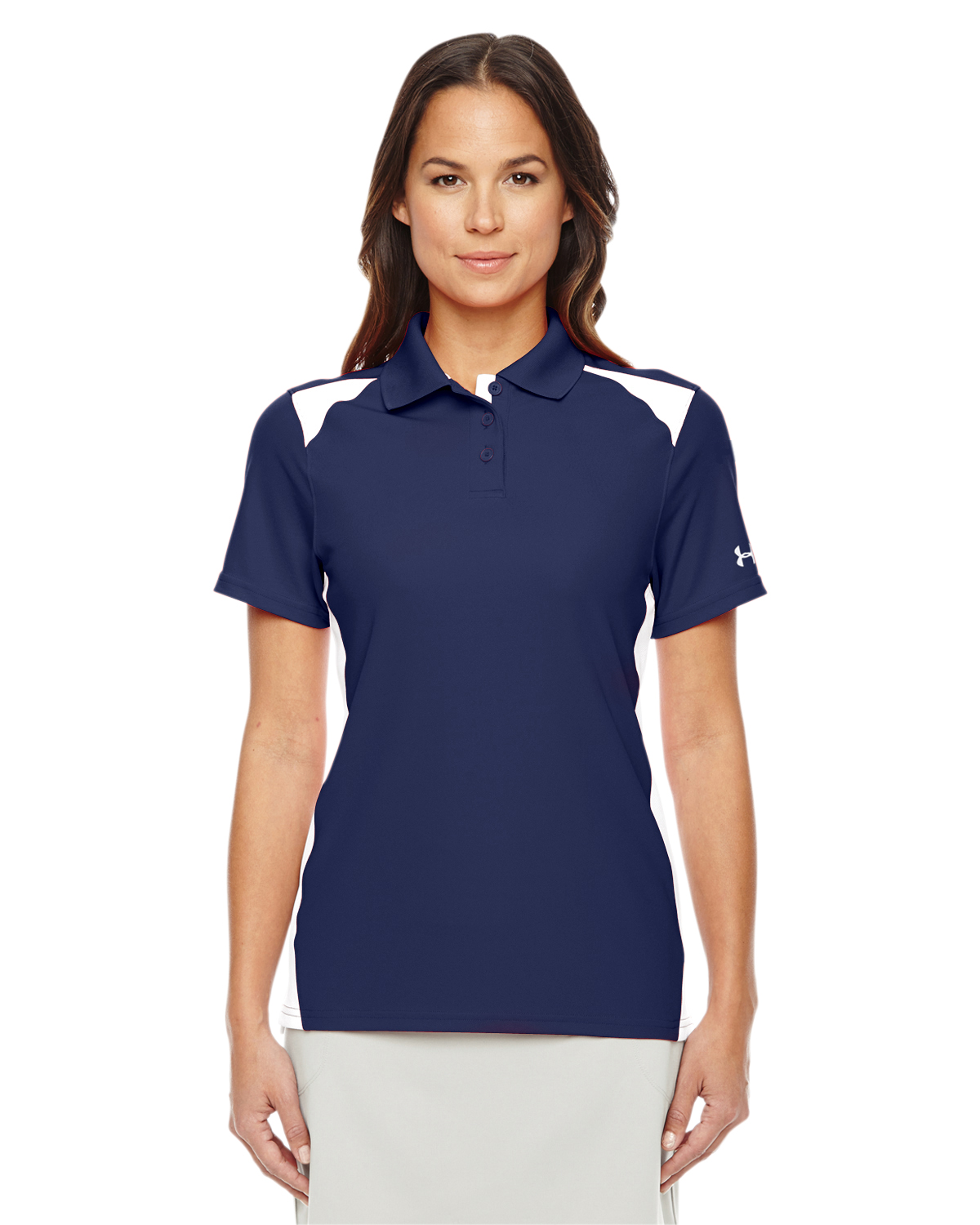 LADIES UA TEAM COLORBLOCK POLO