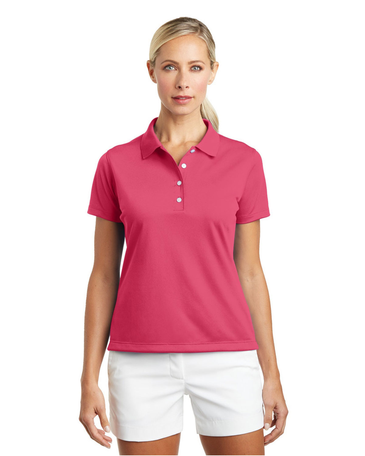 LADIES' TECH BASIC DRI-FIT POLOS