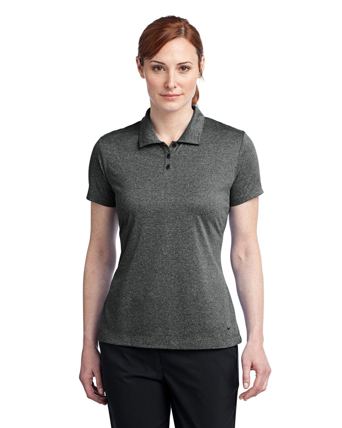 LADIES' DRI-FIT HEATHER POLOS