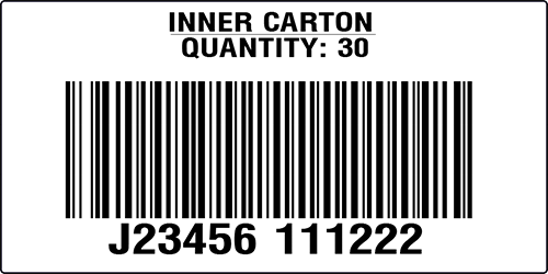 QVC US Jewlery Inner Pack label