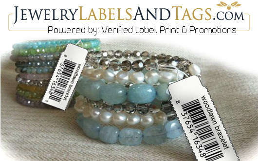 Jewelry Labels and Tags